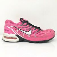 Nike Womens Air Max Torch 4 343851-610 Pink Black Running Shoes Lace Up Size 6