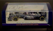"1/43rd SPARK SIGNED  Daniel Ricciardo Red Bull RB11 "" Test Camoflage Car "" 2015"