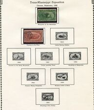 UNITED STATES SELECTION OF EARLY COMMEMORATIVE USED STAMPS