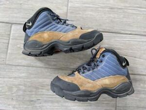 1998 vintage NIKE hiking ACG boots 7.5 suede