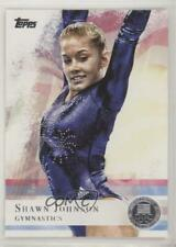 2012 Topps US Olympic Team and Hopefuls Silver Shawn Johnson #1
