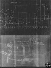 Kawanishi N1K-J Shiden Japanese Fighter Plans WW2 rare Archive Historical