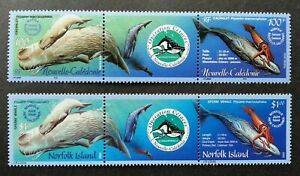 [SJ] Norfolk Island - Caledonia Joint Issue Cetacean 2002 Whale (stamp) MNH