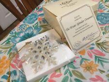 Lenox Winter Splendor Ornament Christmas In Box With Coa
