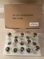15 Pack S14 LED Bulbs, Warm White Shatterproof Edison Light Bulbs E26 Medium
