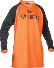 FLY RACING WINDPROOF JERSEY FLOURESCENT ORANGE/BLACK M 370-807M