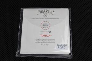 "Pirastro Tonica Viola String Set Medium Up to 16.5"" 1 Day Shipping!"