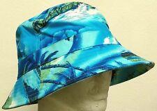 HAWAII HAWAIIAN BEACH SAND OCEAN COTTON BUCKET CAP SUN OUTDOOR FISHERMAN HAT M/L