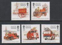 Isle von Mann - 1991, Feuer Motoren Set - MNH - Sg 485/9