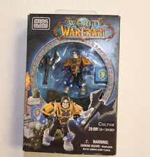 Mega Bloks World of WarCraft Colton Building Toy Set 91001 Human Paladin NEW