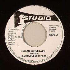 Theophilus Beckford-tell me Little Lady (studio 1) 1961 Shuffle SKA