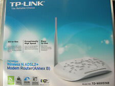 TP-Link TD-W8951ND 150 Mbps 4-Port 10/100 Wireless N Router