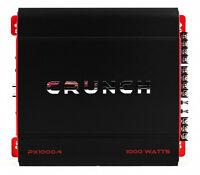 Crunch 4 Channel 1000 Watt Amp A/B Class Car Stereo Amplifier   PX-1000.4