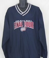2006 NCAA Final Four Indianapolis V-Neck Pullover Windbreaker by Champion Size L