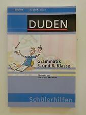 Grammatik 5 und 6 Klasse Duden Deutsch Schülerhilfen Wort und Satzlehre