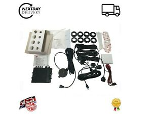 Rear Parking Sensor Kit - FLUSH FIT - OEM quality -  Audi A1 A2 A4 A5 A6 A7 A8