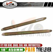 "18"" 450mm Carbon Steel Tyre Levers(2pcs) Scotter Wheelbarrow Vehicle Tools"