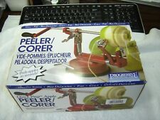 Progressive Apple Peeler/CorerSlicer/Clamp on Style/Model GAPC300/Manual/In Box