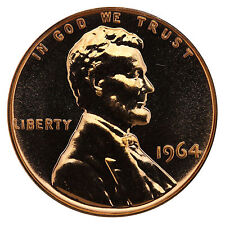 1964 Lincoln Memorial Cent Penny Gem Proof Mint Coin No Mint Mark Uncirculated