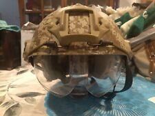 Matrix Basic High Cut Ballistic Type Tactical Airsoft Bump Helmet w/ Visor
