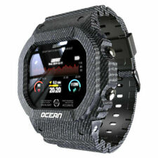 Smart Watch Men Fitness Tracker Blood Pressure Message Push Heart IOS Android