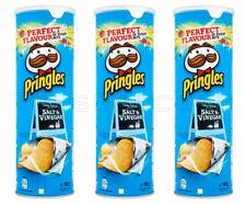 3 x Pringles Salt & Vinegar Flavor Potato Chips 165g 5.8oz