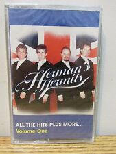 HERMAN'S HERMITS ALL THE HITS PLUS MORE VOL 1 AUDIO CASSETTE TAPE