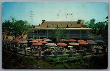 Postcard Anaheim CA c1956 Disneyland Plantation House Frontierland P13363