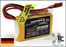 1x ZIPPY Compact 500mAh 3S 35C NEU Lipo Akku 11,1V für E-flite