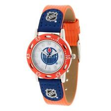 NHL Edmonton Oilers Watch Youth Boys Blue & Orange Apparel Accessory