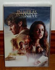 PALMERAS EN LA NIEVE DVD NUEVO PRECINTADO CINE ESPAÑOL DRAMA (SIN ABRIR) R2