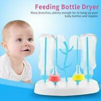 Abnehmbare Babyflasche Wäscheständer Fütterung Halter Tassen Trockner Deskt O1J8