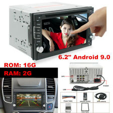 "6.2""Android 9.0 2DIN In Dash Car Stereo Radio DVD Player GPS Navigation WiFi"