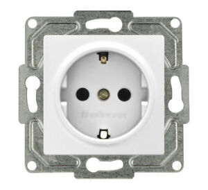 Eqona Steckdose Serien Wechsel Schalter LED Kindersicherung ein aus schalter