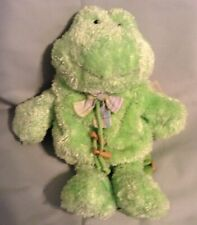 13 INCH TALL GANZ BUDDIES ON THE GO NWT FROG BACK PACK