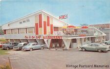 ELMVALE ON CANADA 1959 The Big Red Rooster Restaurant Old Cars VINTAGE GEM+++