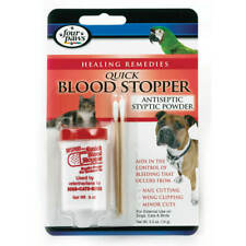 Four Paws Quick Blood Stop Powder Antiseptic Styptic for Pets- 0.5oz Each 2 Pack
