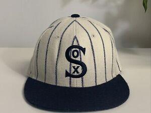 VTG 1917 CHICAGO WHITE SOX Cooperstown Baseball Hat Cap Wool. Repro 7 1/2.