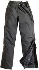 Pantalone impermeabile imbottito da moto scooter apribile tucano urbano 536 nero