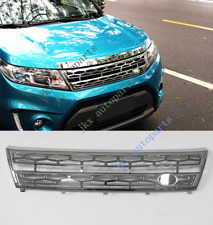 Electroplate Silver Front Bumper Middle Grille Grill For Suzuki Vitara 2015-17