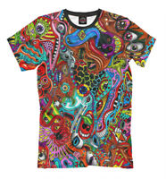 Psychedelic New t-shirt psychedelic esoterics mushrooms 635346