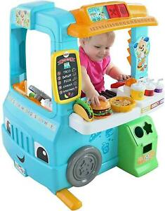 Fisher-Price Laugh & Learn Servin' Up Fun Food Truck DYM74 NEW