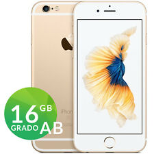 APPLE IPHONE 6S 16GB ORO GOLD BIANCO GRADO AB RIGENERATO RICONDIZIONATO GARANZIA