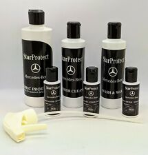 GENUINE MERCEDES BENZ STAR PROTECT AFTERCARE PACK WASH WAX INTERIOR CLEANER