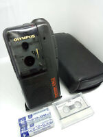 Olympus S922 MicroCassette Pearlcorder Voice Recorder Dictaphone Dictation Black