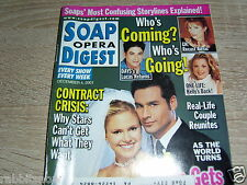SOAP OPERA DIGEST 12/2001 Brian Gaskill ~ ATWT Katie & Simon Wed ~ Deidre Hall