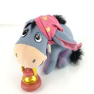 Vintage Eeyore Toy Lantern Night Light Plush Winnie The Pooh Tested Working
