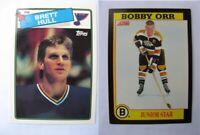 1991-92 Score BO Orr Bobby  junior star  bruins