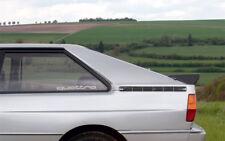 AUDI Quattro Aufkleber  Decal fur window Aufkleber Sticker
