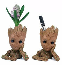 """Guardians of The Galaxy Vol.2 Baby Groot 7"""" Figure Flowerpot Style Toy Xmas Gift"""